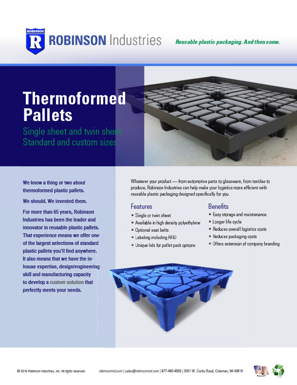 thermo pallet sellsheet